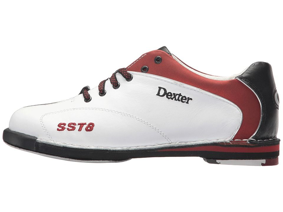 fa1fabfca138 Dexter Bowling SST 8 LE Women s Bowling Shoes White Red Black ...