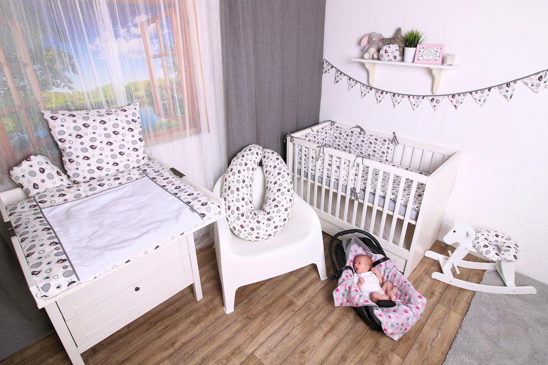 Kinderzimmereinrichtungsideen für Mädchen im süßen