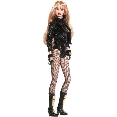 Amazon.com: Barbie Famous Friends: DC Comics Black Canary Doll: Toys & Games