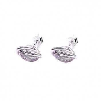 Diese hübschen Knoten-Ohrstecker von Maija Design sind ein liebevoller Begleiter.