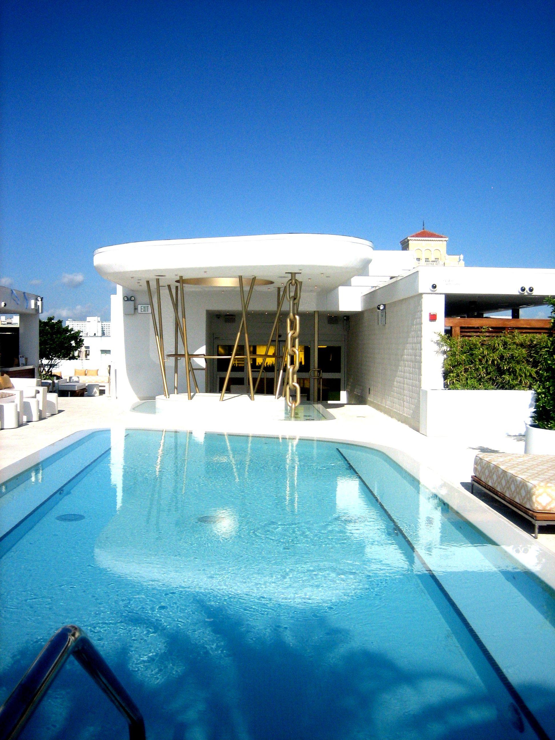 Dream Hotel Rooftop Pool Deck Miami Beach Mutibokocouk Wp