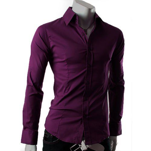 Mens Purple Shirt