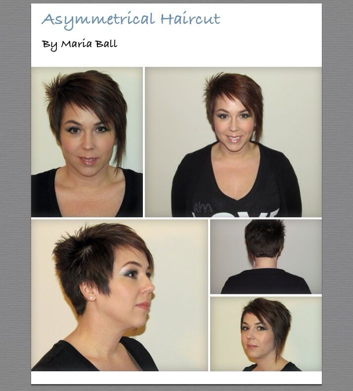 My Client Kim Looks Edgy In Her Ace Metrical Cut And Bright Red High