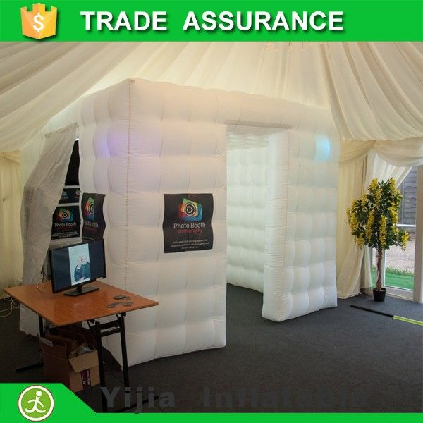 10ft popular portable inflatable tent photo booth led | Tent