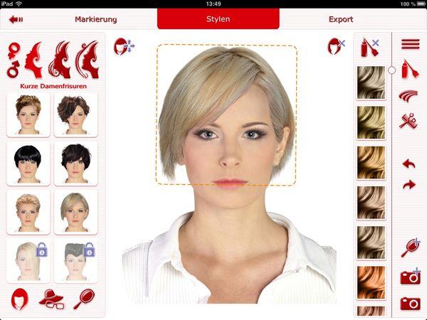 Frisuren Testen App Frisuren
