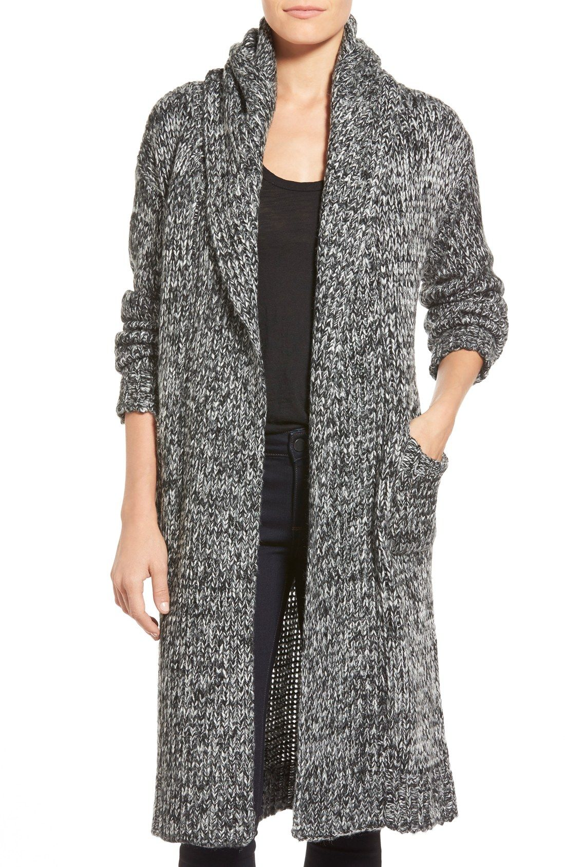 coin 1804 Cozy Chunky Long Hooded Cardigan   Shopping: Wishing and ...