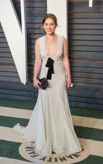 Emilia Clarke | Vanity fair oscar party, Emilia clarke ...