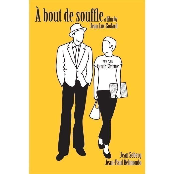 A bout de Souffle, or Breathless poster. £12.00, via Etsy.