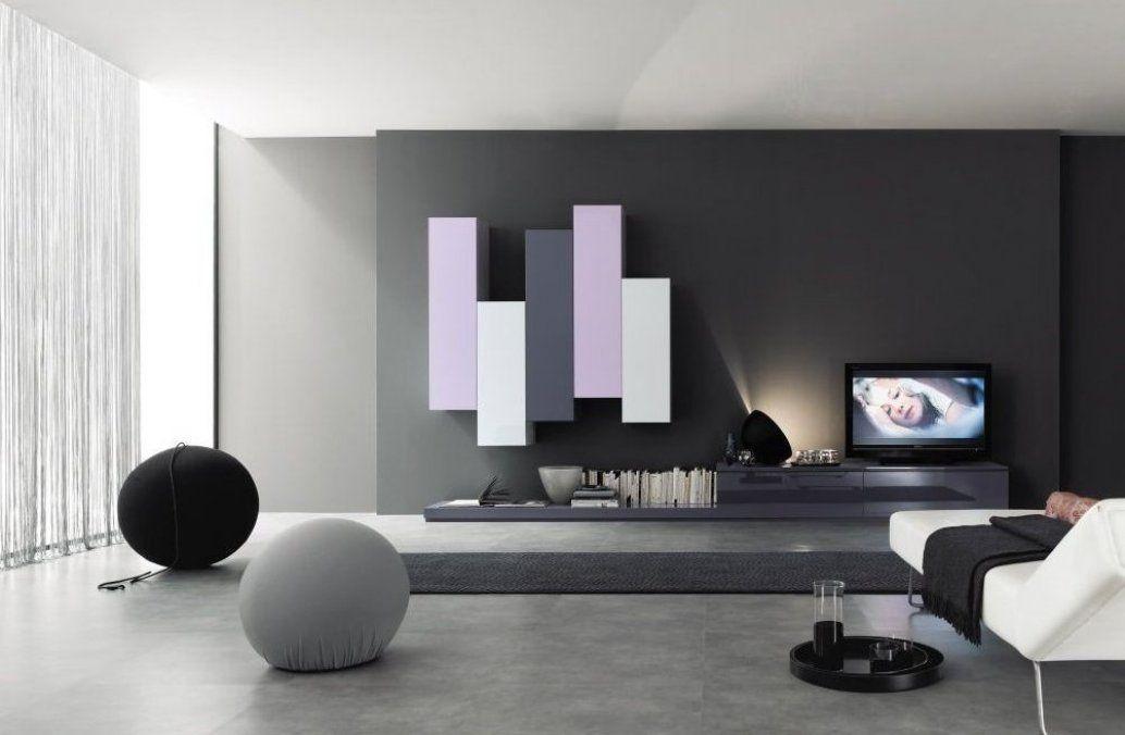 Nett Wohnwand Modern Hochglanz Wohnkulturwohnzimmer