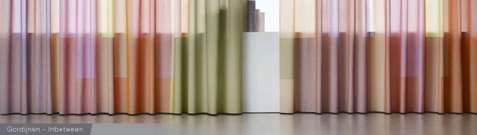 allemaal kleuren gordijnen | Relatie binnen en buiten | Pinterest