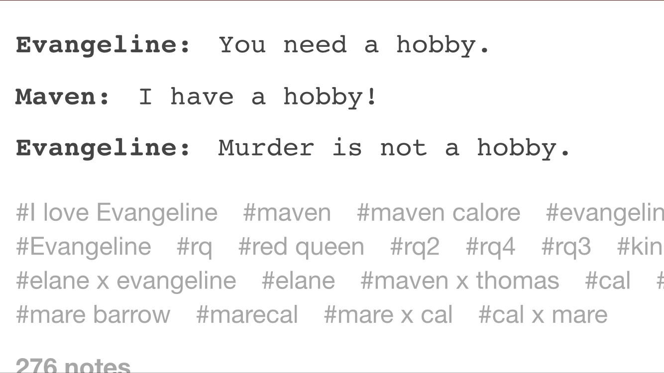 Pin On Red Queen Memes
