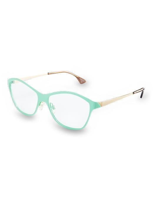 802002d36417fb Mint frames — I know I would look like a goofball with these on, but  they re so cute!