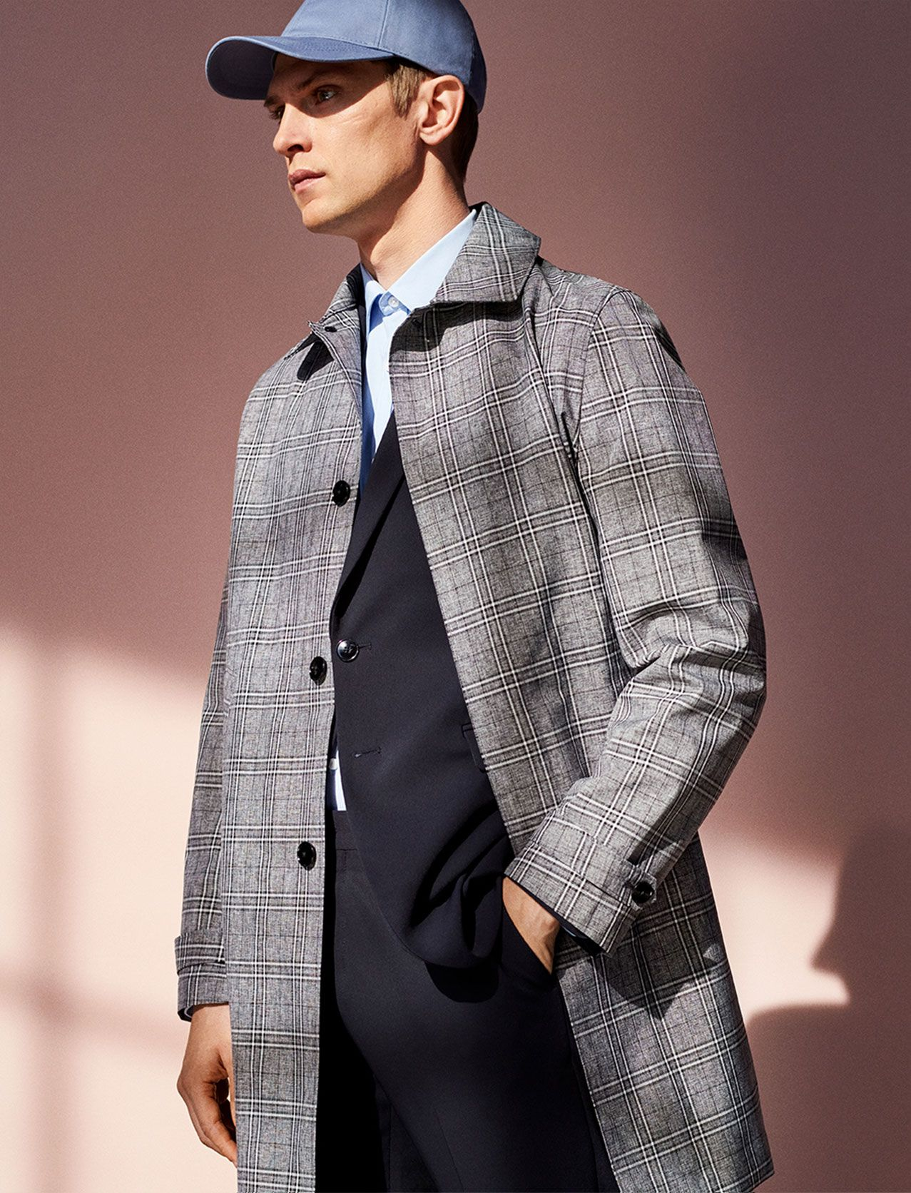 Image 2 Of Plaid Traveler Trench Coat Traveler Suit