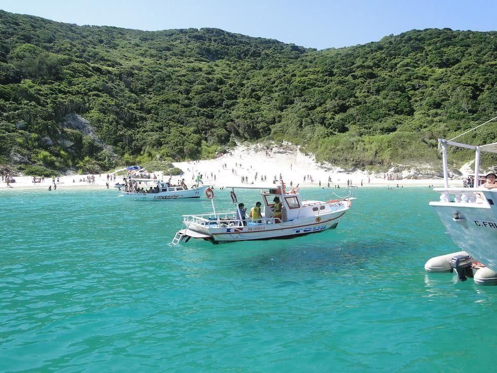 Praia Do Pontal Arraial Do Cabo Rio De Janeiro Brasil Prainha