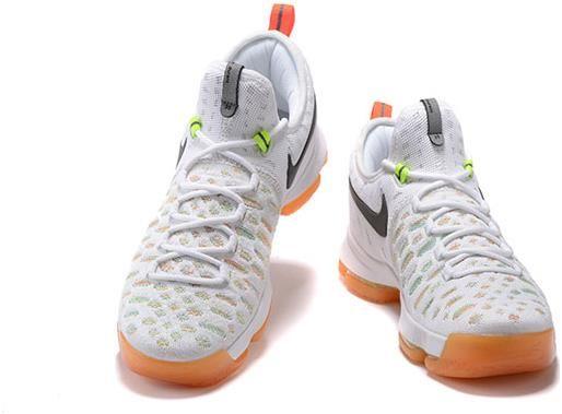 e75dfc35233c42 Nike Zoom KD 9 Lmtd EP Mens Basketball shoes White rainbow4