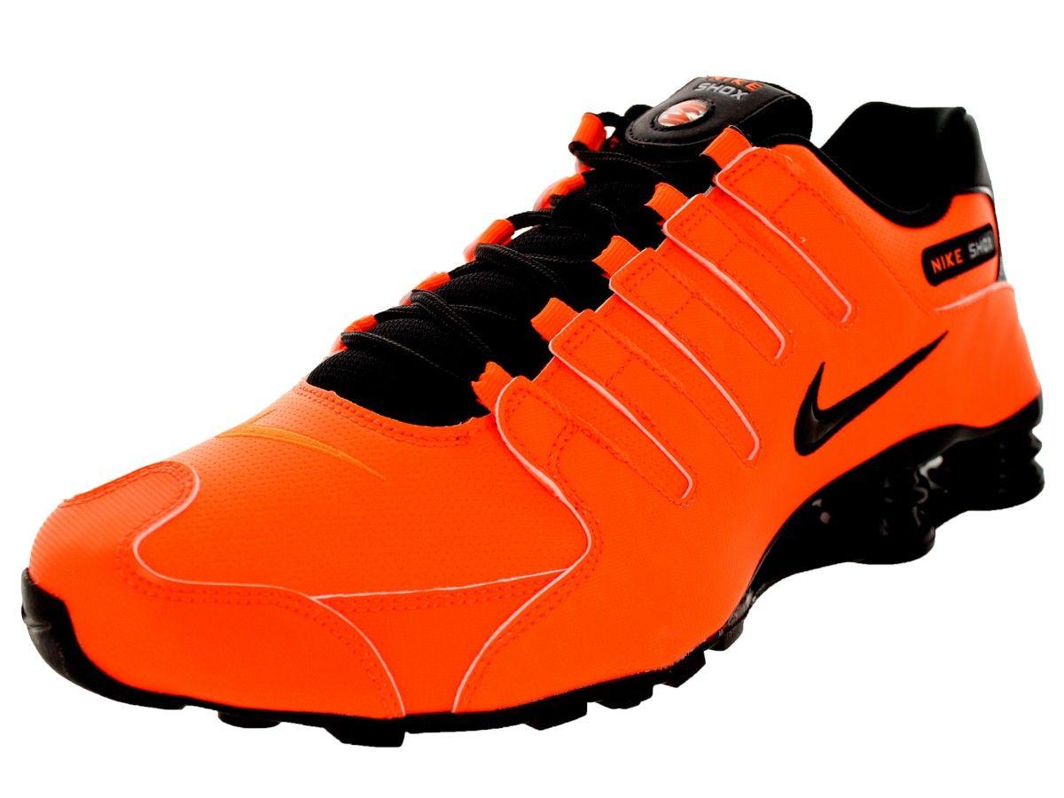 ... mens nike shox current all orange ...