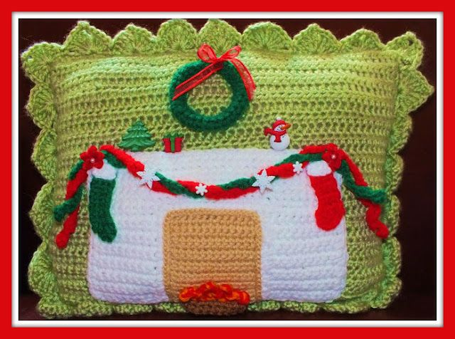 Connie's Spot© Crocheting, Crafting, Creating!: Free Crochet Christmas Pillow Patterns©