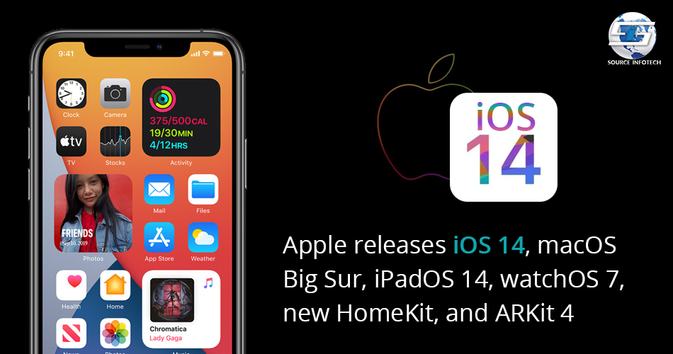 Apple release iOS 14 in 2020 Mac os, Apple, Software update