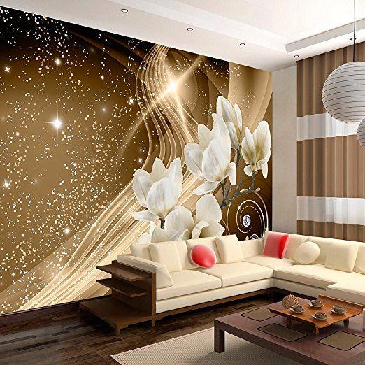 murando® Fototapete 350x245 cm - Vlies Tapete - Moderne Wanddeko - moderne tapeten wohnzimmer