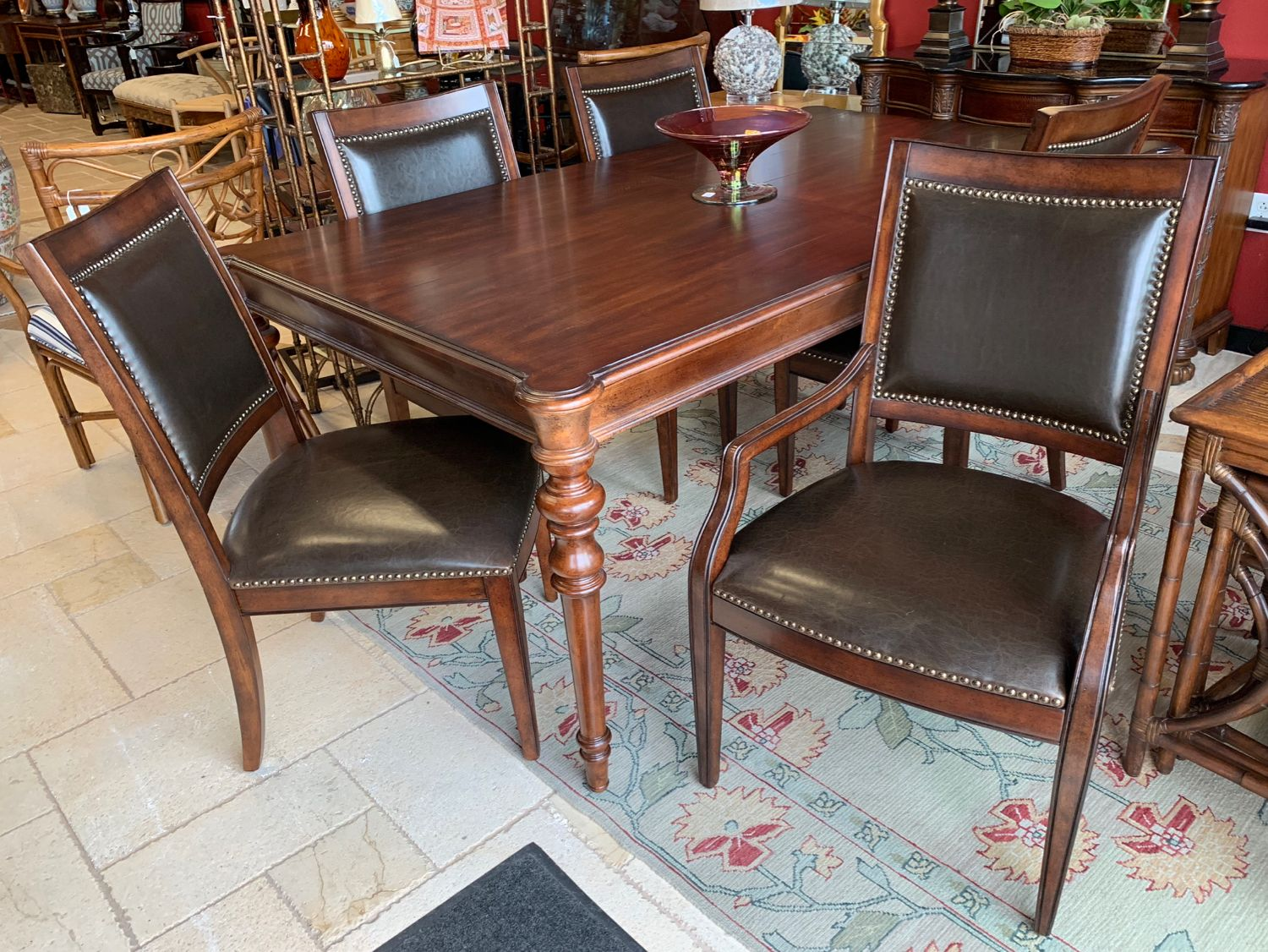 Bernhardt Abbington Dining Room Set Simple Lines Neoclassical