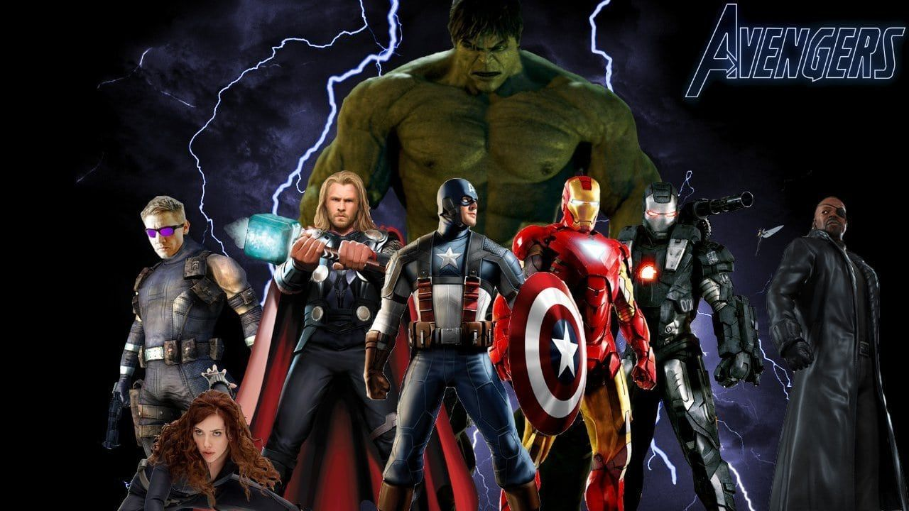 Watch The Avengers 2012 Full Movie Online Free When An Unexpected Enemy Emerges And Threatens Global Safety Avengers Carta Da Parati Avengers The Avengers