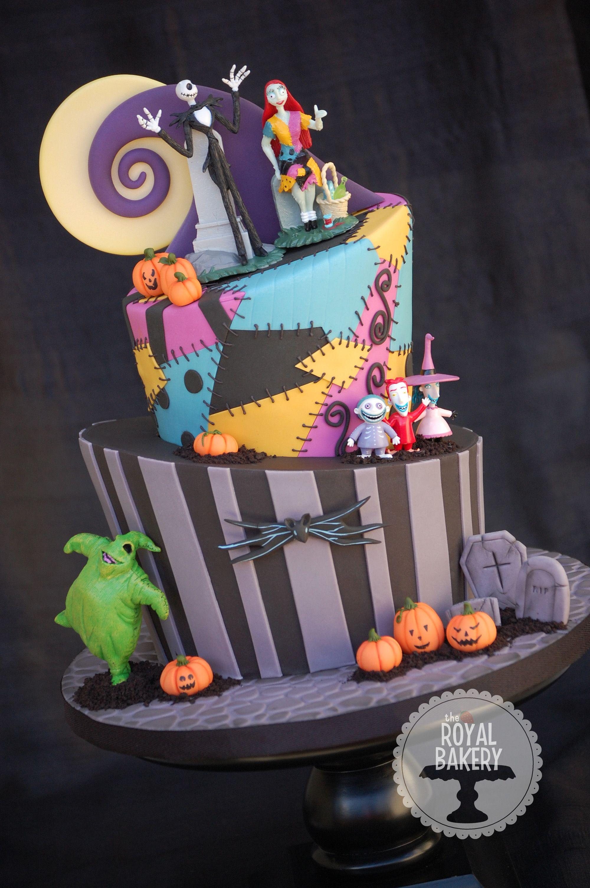 Prime The Royal Bakery Nightmare Before Christmas Topsy Turvy Cake Funny Birthday Cards Online Elaedamsfinfo