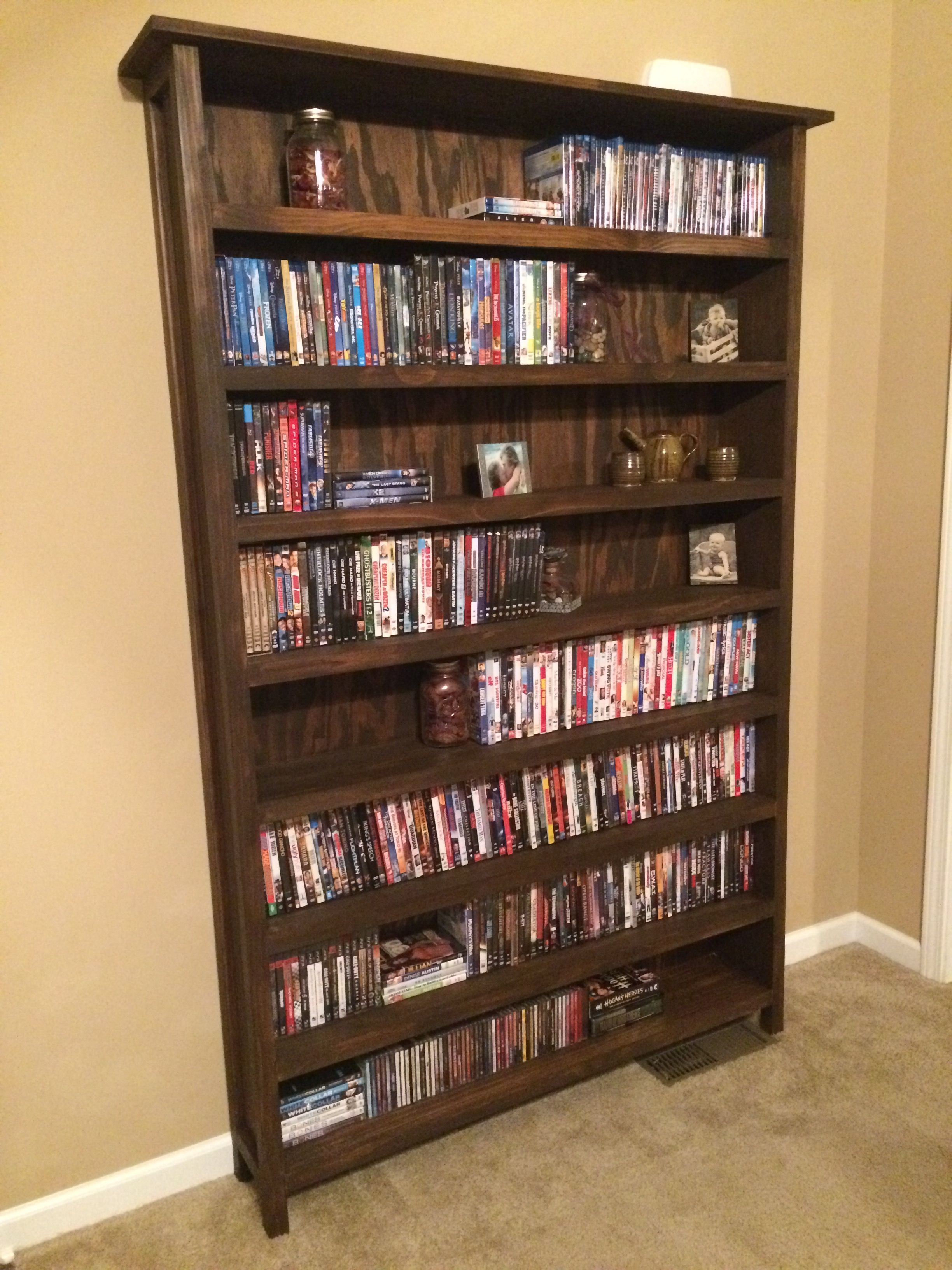 Diy Movie Shelf