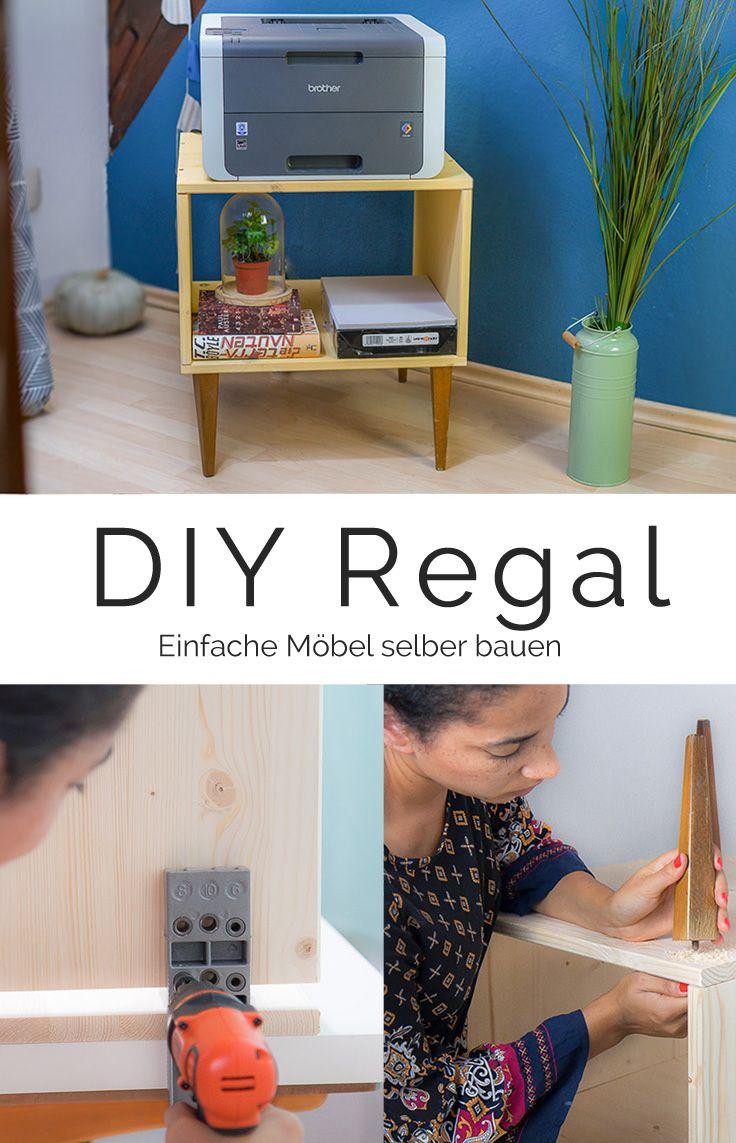 Möbel Selber Bauen   Einfach, Schnell, Günstig Und Immer Passend: DIY Regal  Mit