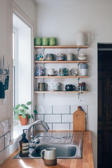 Super Budget Rental Kitchen Makeover studio Pinterest Home