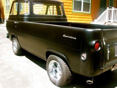 1965 Ford Econoline Pickup Truck Econoline 5 Window Pick Up