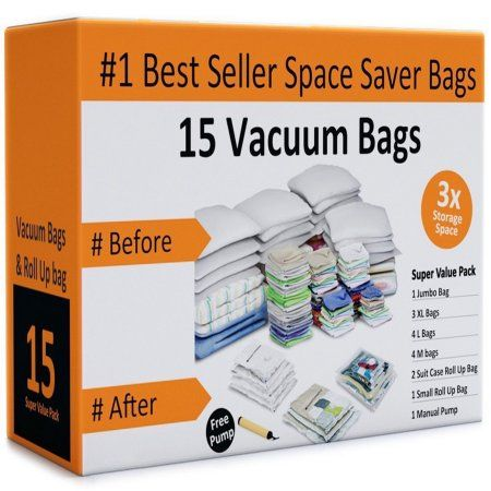 Space Saver Bags Walmart Prepossessing Vacuum Storage Bagsspace Saving Air Tight Compressionshrink Down 2018