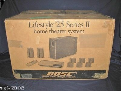 Nice bose lifestyle 25 series ii 51 channel home theater system nice bose lifestyle 25 series ii 51 channel home theater system with dolby digital for sciox Image collections