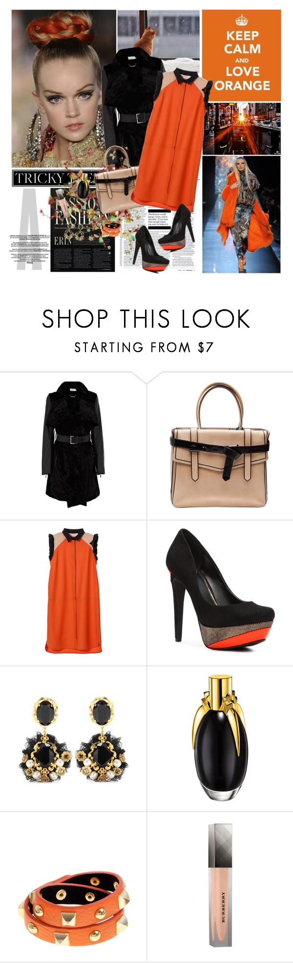Trend black and orange