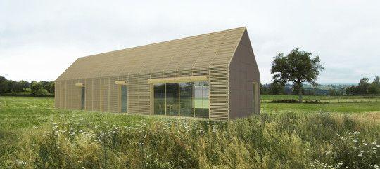 Nice Conception Du0027une Maison Ossature Bois (autoconstruction) · Wooden HousesTiny  ...