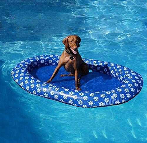 Volwco Dog Pool Floats for Large Dogs, Portable Dog