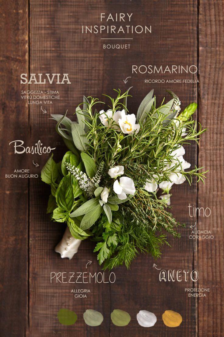 Bouquet Sposa Erbe Aromatiche.Bouquet Alle Erbe Aromatiche Per Una Sposa Green E Un Matrimonio