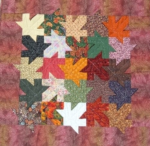 Tessellating Leaves Quilt Crafty Stuff Quilts