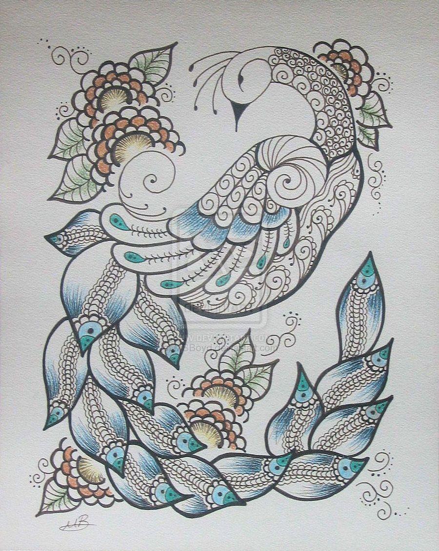 Henna designs peacock henna peacock - Peacock Pencil Designs Peacock Henna Designs Henna Tattoo Indian Arabic Design Pictures Pics