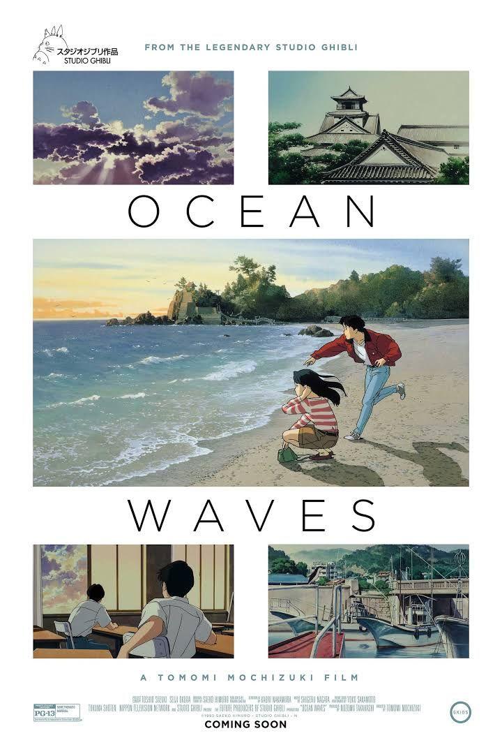 Ocean Waves Dir Tomomi Mochizuki 1993 Studio Ghibli Ocean