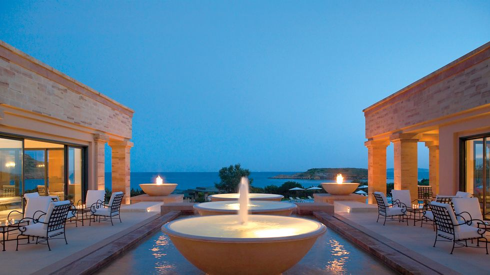 Lounge Bar Cape Sounio 5 Star Hotel Near Athens Greece