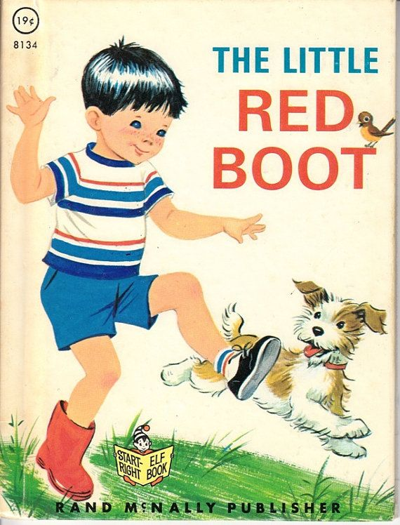 The Little Red Boot - Rand McNally Book