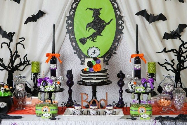 Decoracin de mesas para Halloween Mesas and Halloween