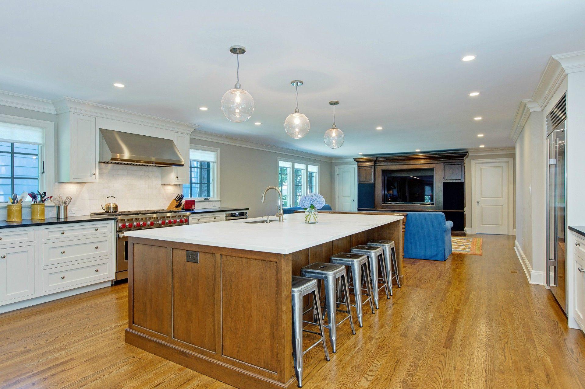 Transitional Interior Renovation / Addition (Munsey Park, NY) - Full ...