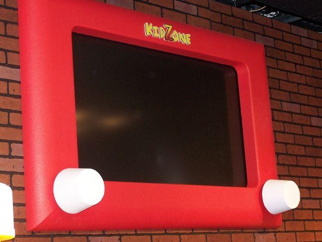 etch a sketch tv frame | Kids area | Pinterest | Tv frames, Churches ...
