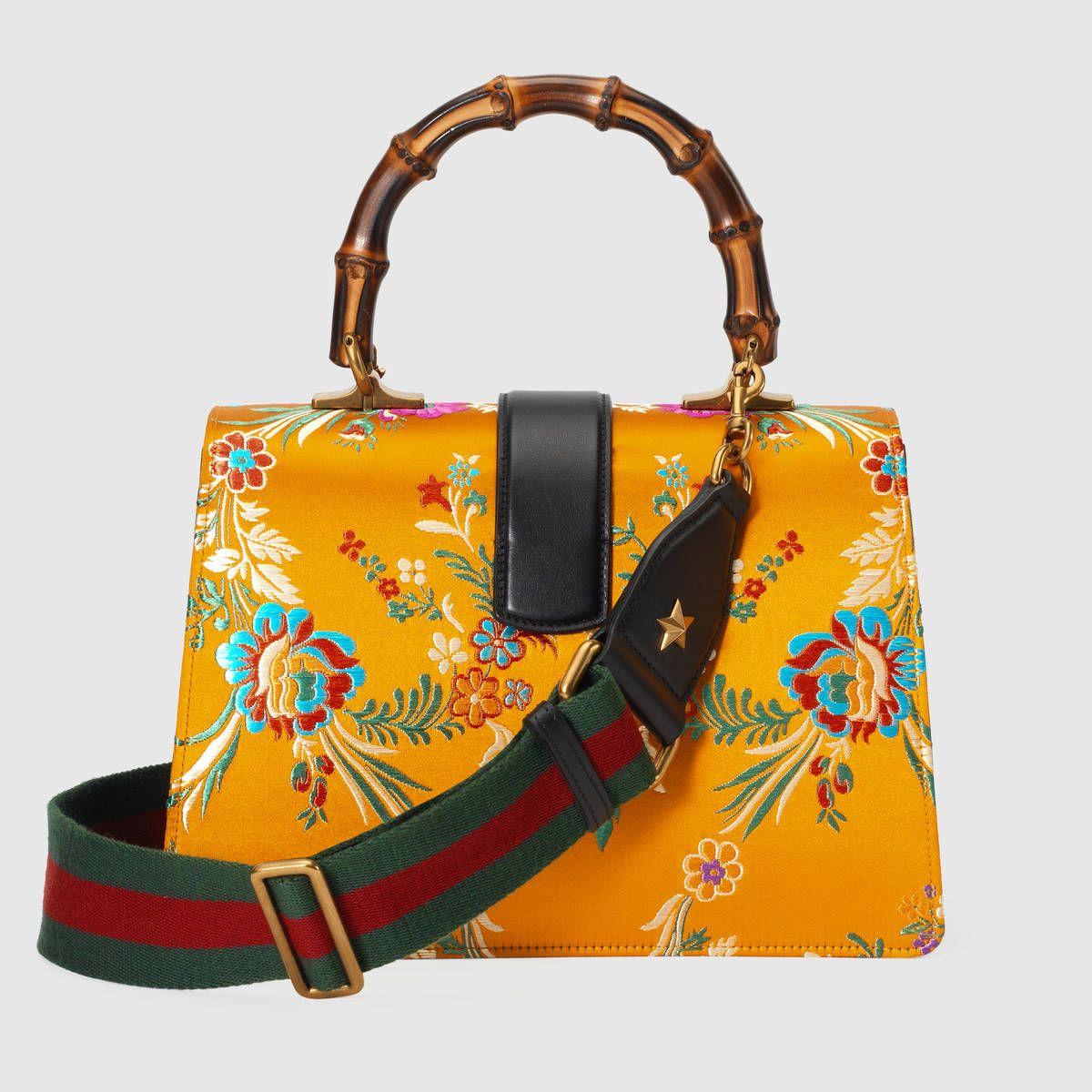 e4d7d823366 Gucci Dionysus floral jacquard top handle bag Detail 3