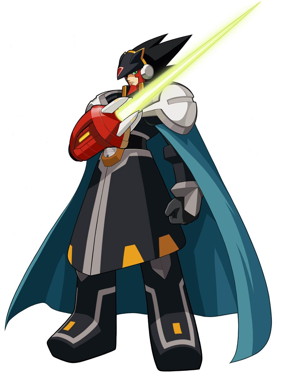 Colonel Exe Characters Art Mega Man Battle Network 5