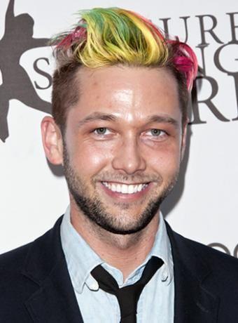 Chris Benz Undercut Multi Hair Color | Hairstyle Channel - Women ...