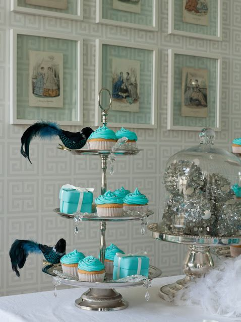 For a blue themed wedding cute minus birds