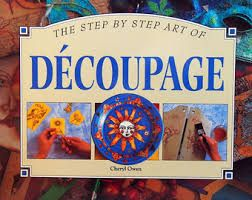 Image result for IMAGES OF decoupage furniture
