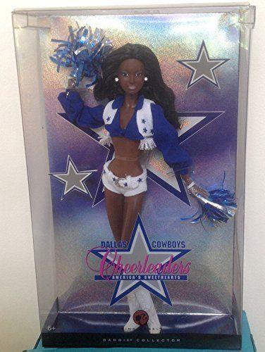 Dallas Cowboys Cheerleader African American Collectable Barbie Fashion Doll #Barbie